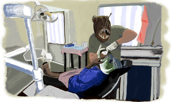 Fish Dentistry